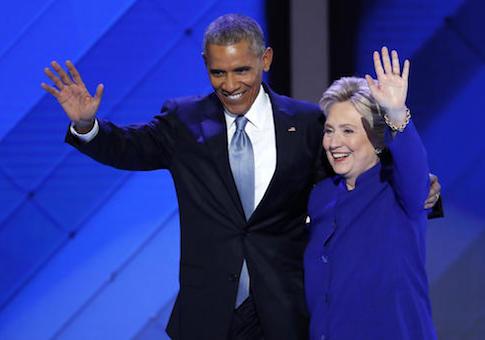 Clinton Obama