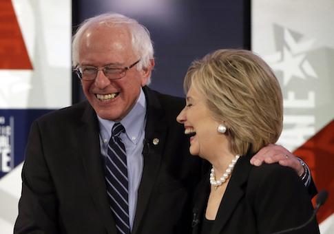 Bernie Sanders, Hillary Rodham Clinton