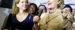 Hillary Clinton,Debbie Wasserman Schultz
