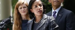 Barack Obama, Susan Rice, Samantha Power