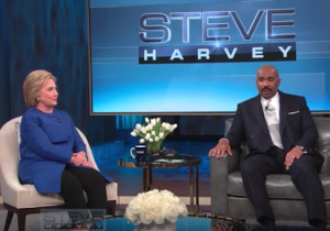 Hillary Clinton Steve Harvey