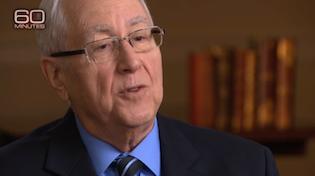 Ron Radosh in the 60 Minutes segment