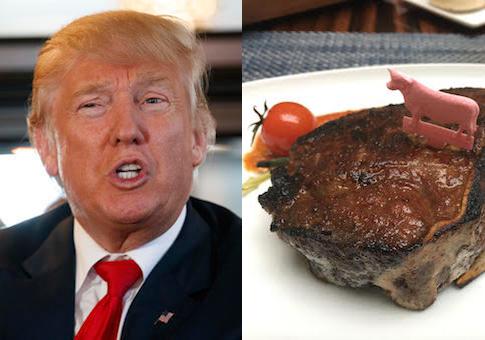 Trump steak