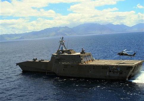 Military Exercises Navy Secretary