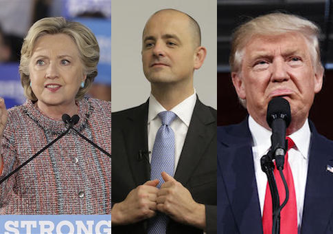 Clinton, McMullin, Trump / AP