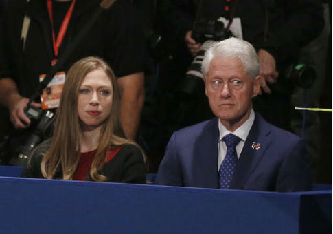 Chelsea and Bill Clinton / AP
