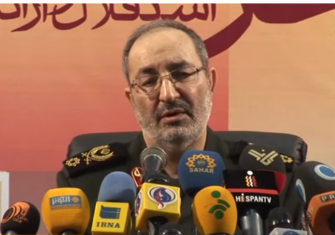 Massoud Jazayeri, deputy chief of staff of Iran's armed forces / Screenshot from PressTV YouTube