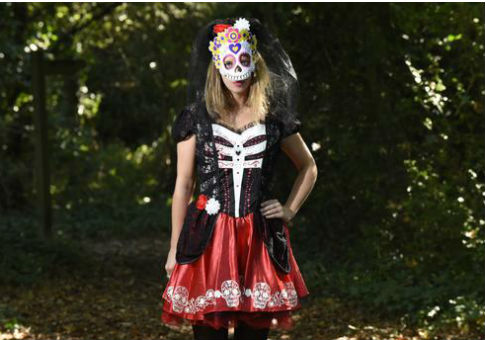 Supermarket chain ASDA has been accused of selling 'Halloween Day of the Dead Costumes' disrespectful to Mexicans / AP