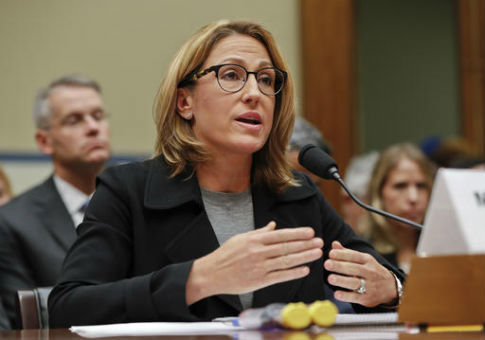 Mylan CEO Heather Bresch testifies on Capitol Hill, Sept. 21, 2016 / AP