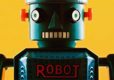 A robot / AP