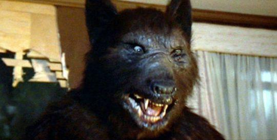 A werewolf / Screenshot from 'Silver Bullet'
