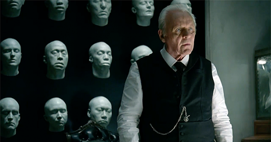 My fan theory is that Dr. Ford is the hero of Westworld; he's the only one trying to prevent a robot uprising!