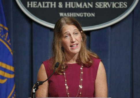 Health and Human Services Secretary Sylvia Mathews Burwell / AP
