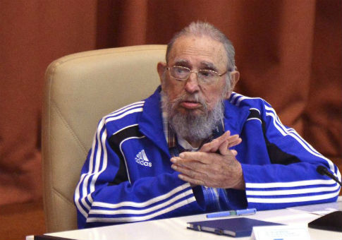 Cuba's former president Fidel Castro attends the closing ceremony of the seventh Cuban Communist Party congress in Havana, April 2016 / REUTERS