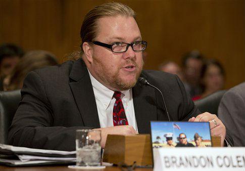 VA whistleblower Brandon Coleman / AP