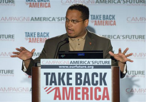 Keith Ellison in 2007, the year before his trip sponsored by the Muslim American Society / AP