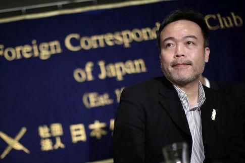 Kosuke Tsuneoka, a Japanese freelance journalist / AP