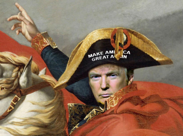 """""""Death is nothing, but to live defeated and inglorious is to die daily"""" —Donald J. Trump"""