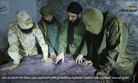 Members of al Qaeda-linked Fatah al-Sham Front in Syria / AP