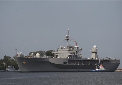 U.S. Navy Ship USS Mount Whitney