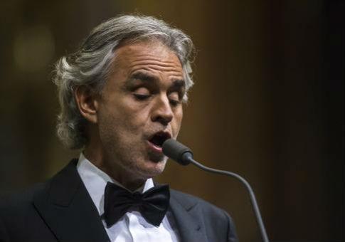 Italian tenor Andrea Bocelli / AP