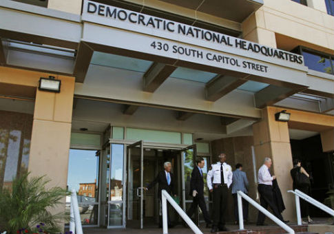 Democratic National Committee headquarters in Washington / AP
