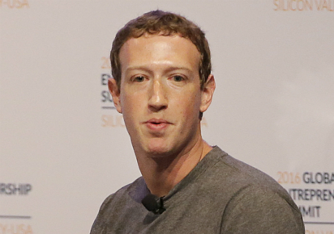 Facebook CEO Mark Zuckerberg / AP