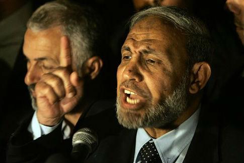Palestinian Hamas leader Mahmoud al-Zahar / AP