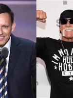 Peter Thiel, left, and Hulk Hogan / AP