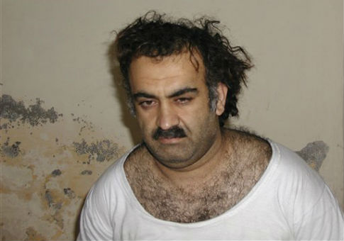 Khalid Sheikh Mohammed is seen shortly after his capture / AP