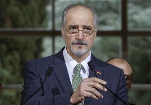Bashar al-Jaafari, Syrian ambassador of the Permanent Representative Mission of Syria to UN / AP