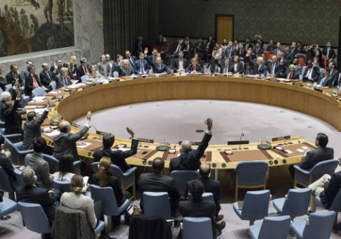 The U.N. Security Council votes to condemn Israel for establishing settlements in the West Bank and east Jerusalem. In a striking rupture with past practice, the U.S. allowed the vote / AP