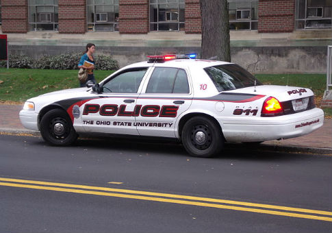 Ohio State University Police Department car / Wikimedia Commons