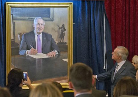 Senator Harry Reid portrait unveiling, Washington DC, USA - 08 Dec 2016