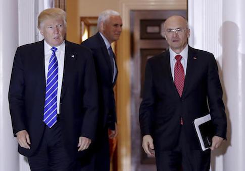 Andy Puzder,Donald Trump