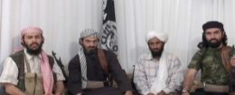 2009 photo shows men who IntelCenter identifies as senior leaders of al Qaeda in the Arabian Peninsula / AP