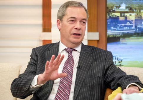 Former UKIP leader Nigel Farage / AP