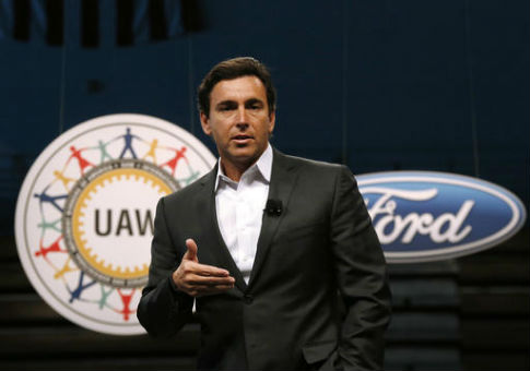 Ford Motor Company President and CEO Mark Fields / AP
