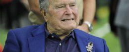 Former President George H.W. Bush / AP