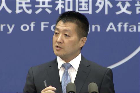 Lu Kang, spokesman of the Chinese Ministry of Foreign Affairs / AP