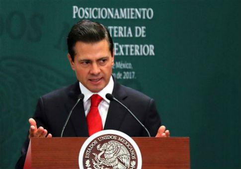 Mexico's President Enrique Peña Nieto / AP