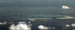 Mischief reef in the Spratly Islands in the South China Sea, west of Palawan, Philippines / REUTERS