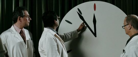 It's worth noting that even Zack Snyder could see the Doomsday Clock is ridiculous nonsense.