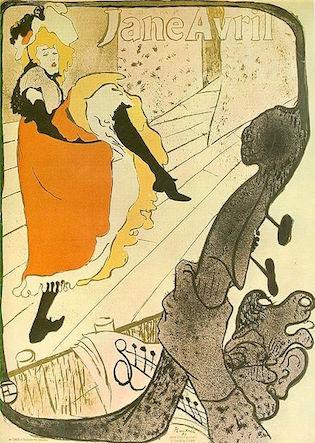 Toulouse-Lautrec Jane Avril