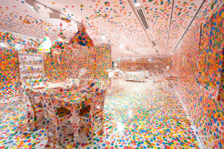 """Obliteration Room"" by Yayoi Kusama / Hirshhorn Museum"