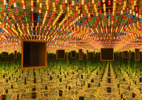 """Love Forever"" by Yayoi Kusama / Hirshhorn Museum"