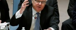 Russian Ambassador to the United Nations Vitaly Churkin / REUTERS