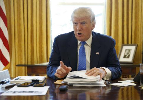 President Donald Trump / REUTERS