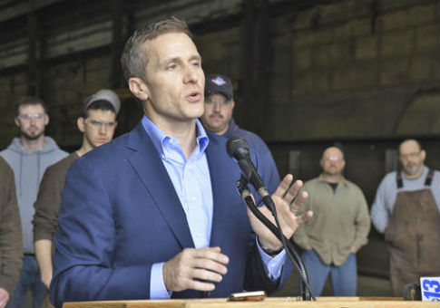 Missouri Gov. Eric Greitens /  AP