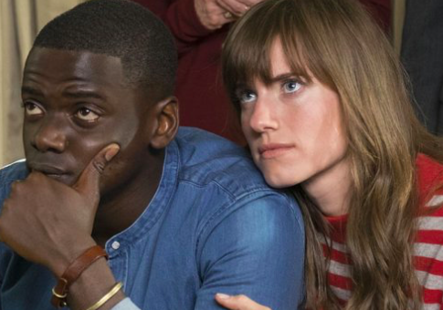 """Actors Daniel Kaluuya and Allison Williams on the set of """"Get Out"""" / AP"""